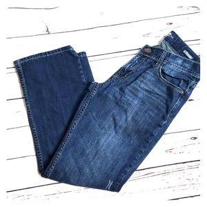 Seven 7Jeans straight 32x32 dark wash mens